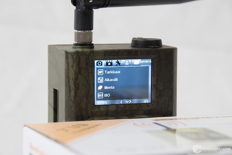 lähettävä valvontakamera mökille