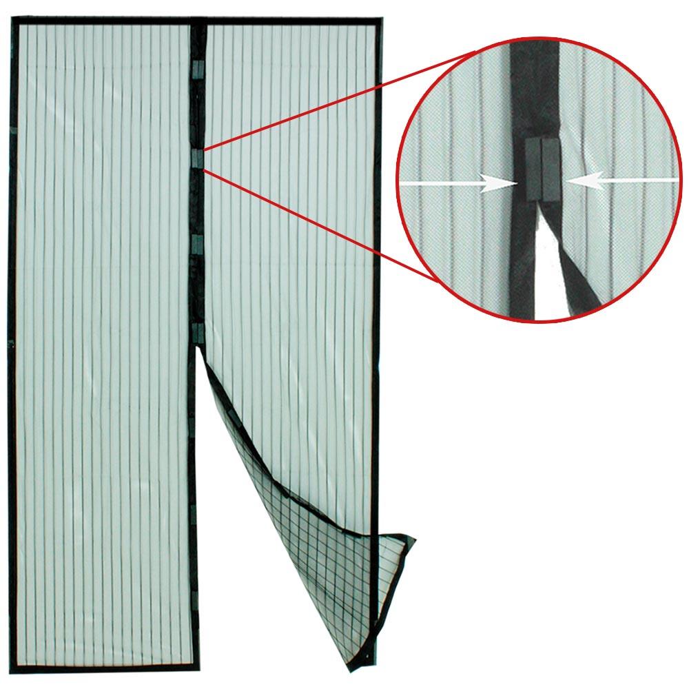 hyttysverkko oveen magneetti